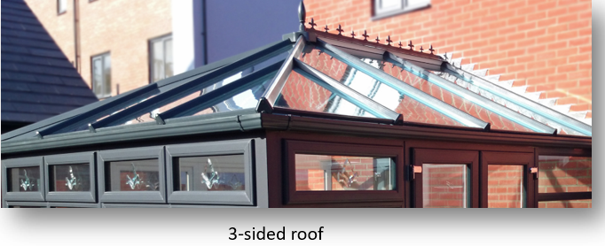 3 sided Georgian Conservatory roof