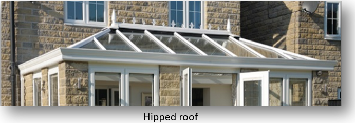 Hipped Conservatory Roof