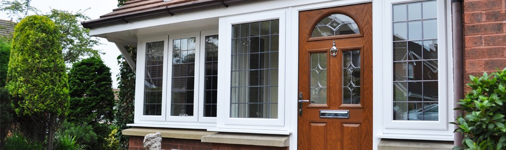 Large UPVC Porches