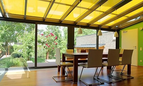 Large Lean to Conservatory Designs