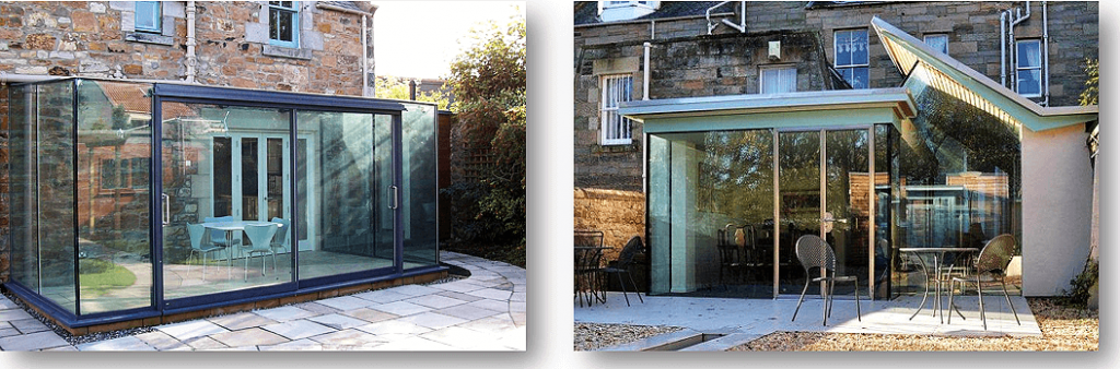 Modern Conservatory Two Designs