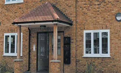 Modern upvc Porches