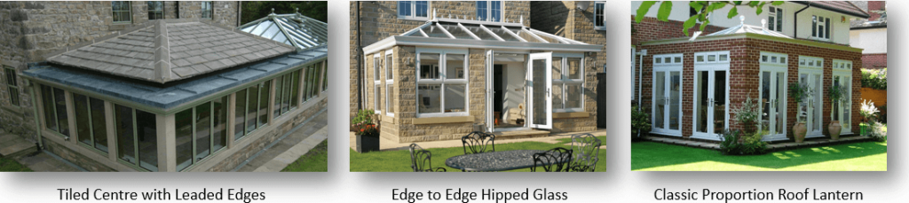 Orangery roof designs