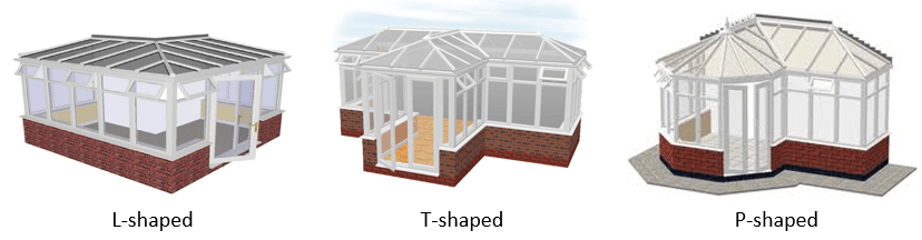 shaped conservatories