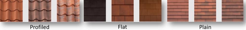 Types of Roof Tile Design