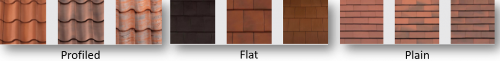 Types of Roof Tile Design