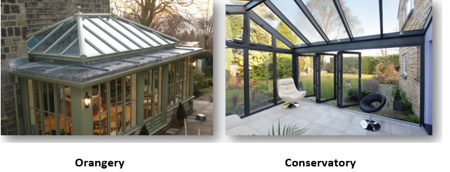 Small Orangeries and Conservatories