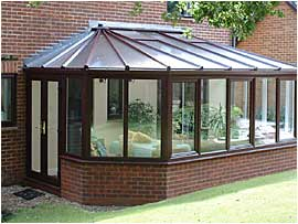 Poly-carbonate roof